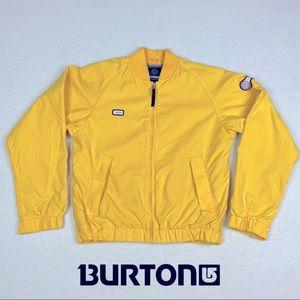 Burton Biolite Yellow Snowboard Ski Jacket Size S